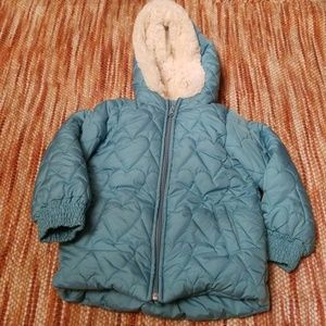 Old navy 5 5t parka puffy jacket coat girls